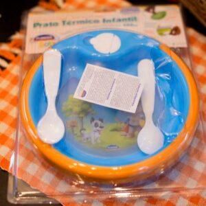 Prato Térmico Oliver Azul Plasútil – 450ml