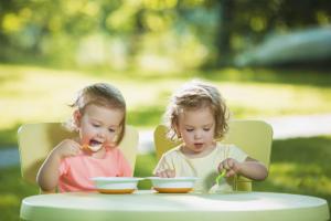 Sal na alimentação do bebê
